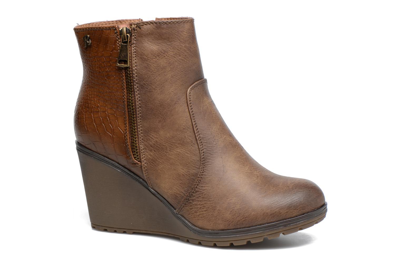 Bottines et boots Refresh Natys Marron vue détail/paire