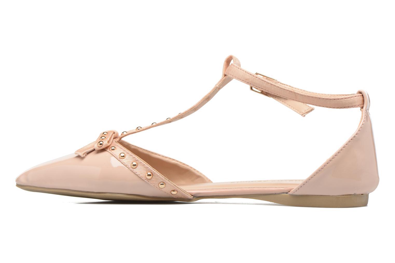 Bailarinas Dorothy Perkins Honour Beige vista de frente