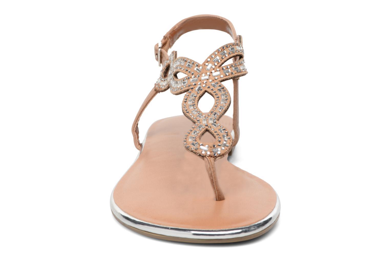Sandales et nu-pieds Dorothy Perkins Fiesta Beige vue portées chaussures