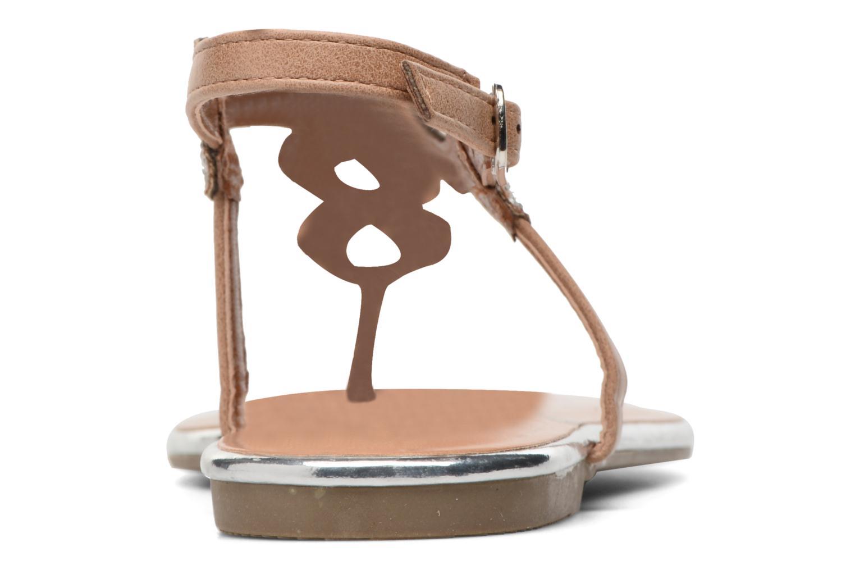 Sandales et nu-pieds Dorothy Perkins Fiesta Beige vue droite