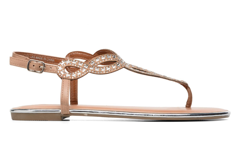 Sandales et nu-pieds Dorothy Perkins Fiesta Beige vue derrière