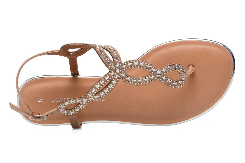 Sandales et nu-pieds Dorothy Perkins Fiesta Beige vue gauche