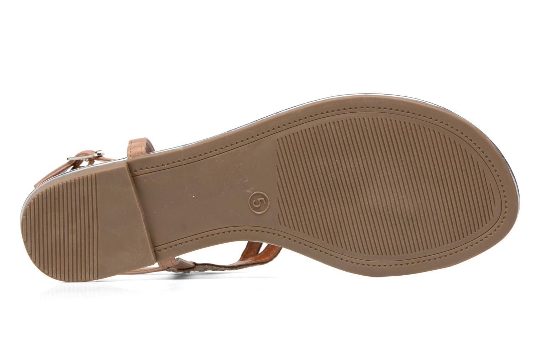 Sandales et nu-pieds Dorothy Perkins Fiesta Beige vue haut