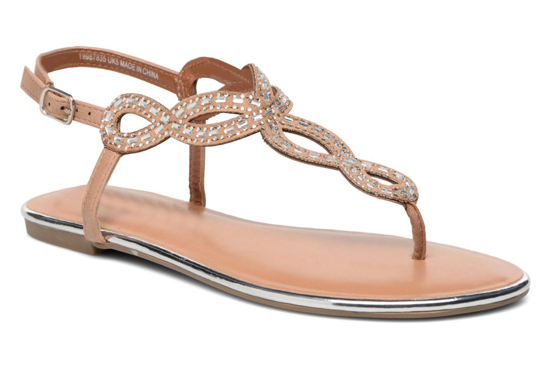 Sandales et nu-pieds Dorothy Perkins Fiesta Beige vue détail/paire