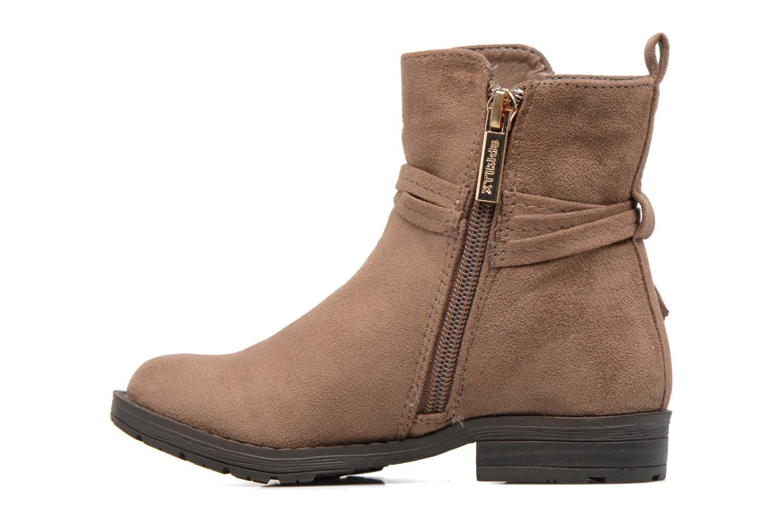 Bottines et boots Xti Stabil 53819 Marron vue face