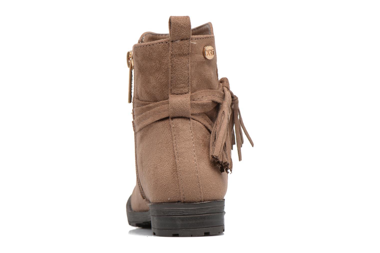 Bottines et boots Xti Stabil 53819 Marron vue droite