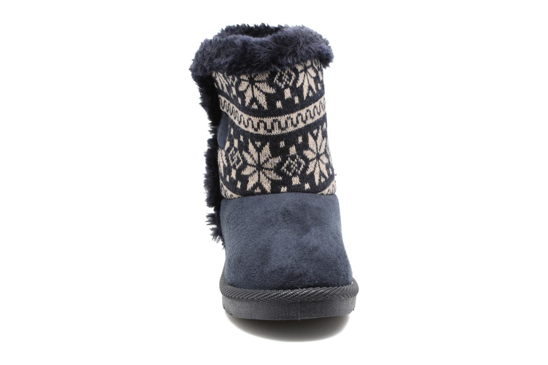 Bottes Xti Koul 54023 Bleu vue portées chaussures