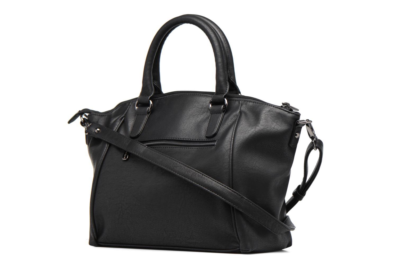 Handbags Hexagona Blandi Black view from the right
