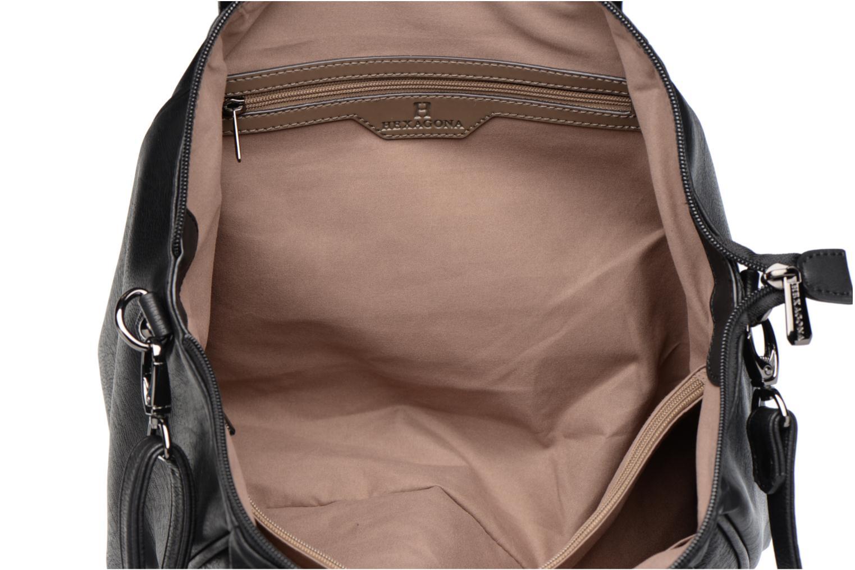 Handbags Hexagona Blandi Black back view