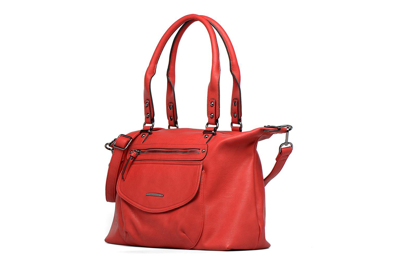 Handbags Hexagona Angla Red model view