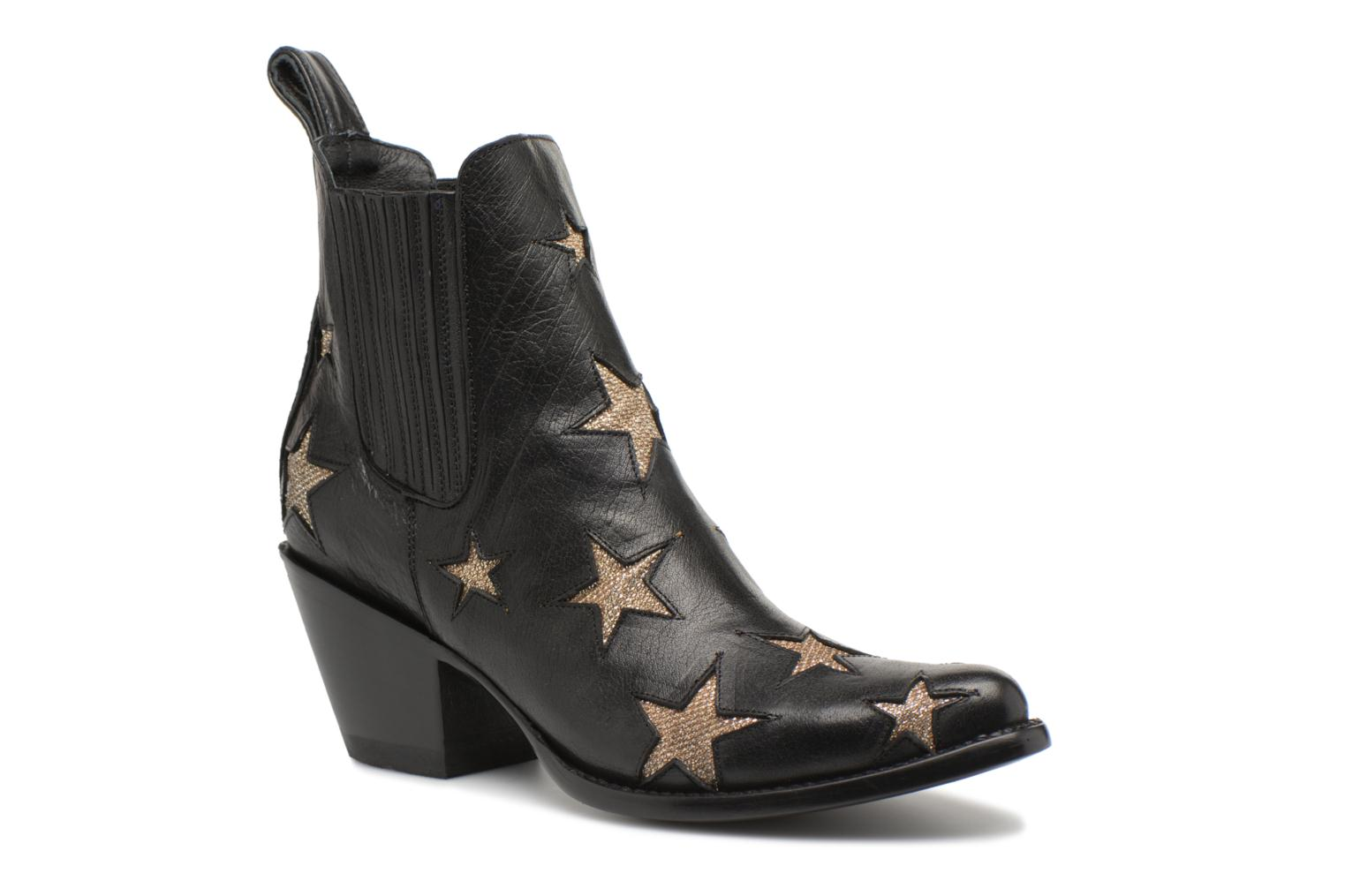 Ankle boots Mexicana Circus 2 Black detailed view/ Pair view