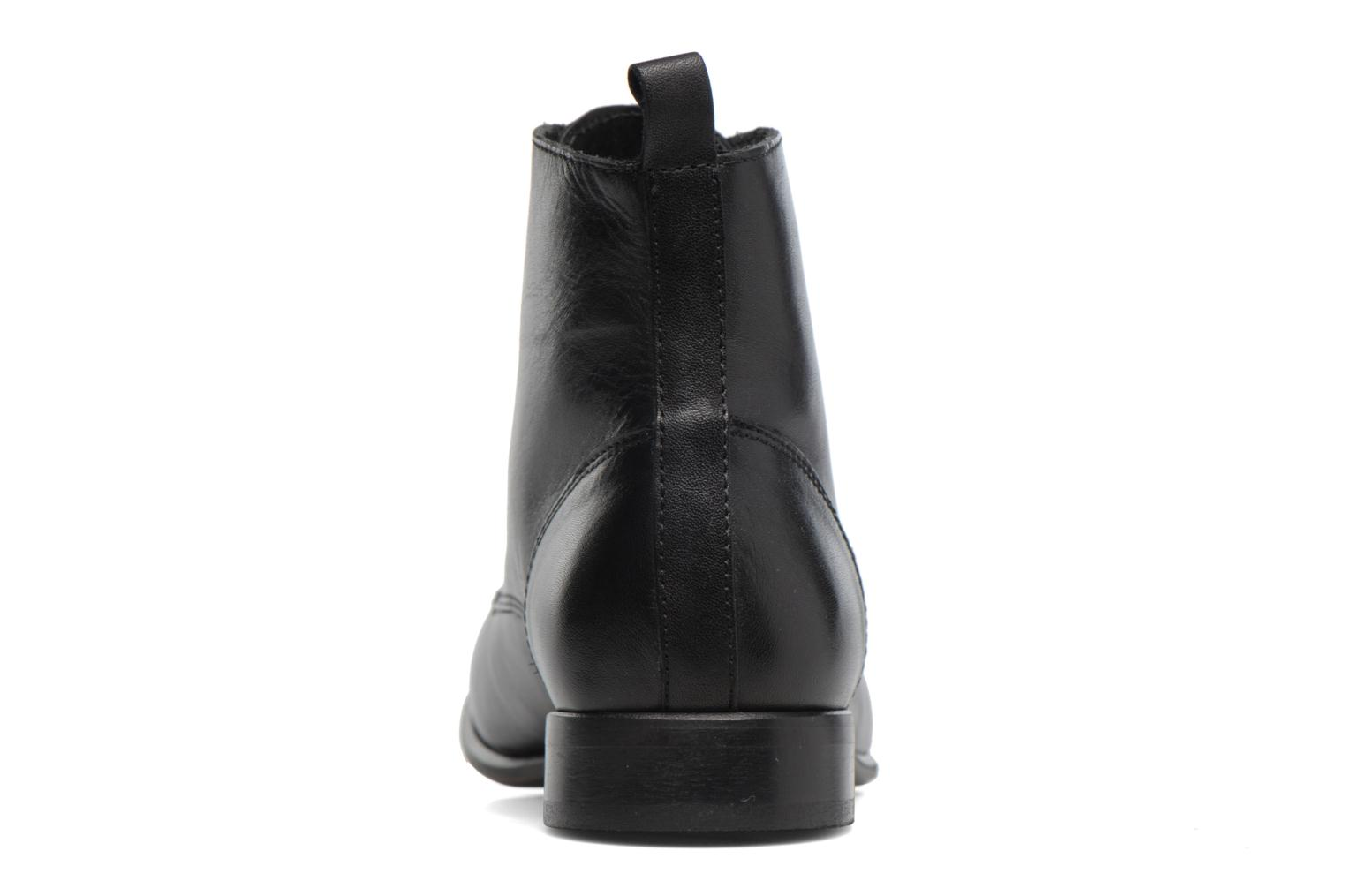 Ankle boots Georgia Rose Alyson Black view from the right