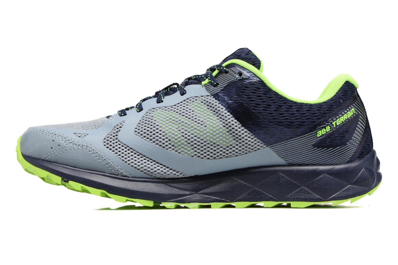 Chaussures de sport New Balance MT590L Gris vue face