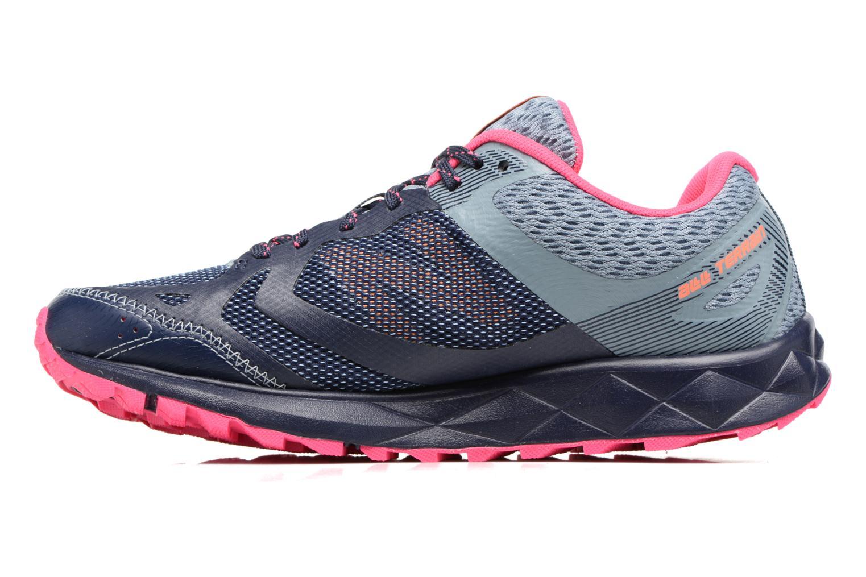 Chaussures de sport New Balance WT590L Bleu vue face