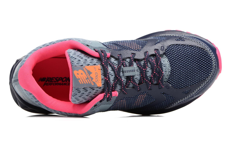 Chaussures de sport New Balance WT590L Bleu vue gauche