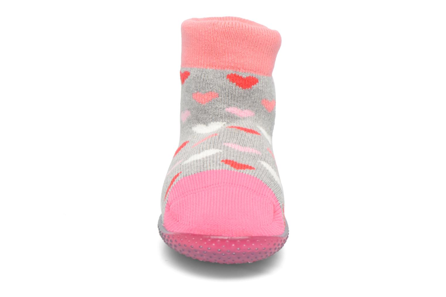 Chaussons Chaussettes POP  Slippers Pink Heart
