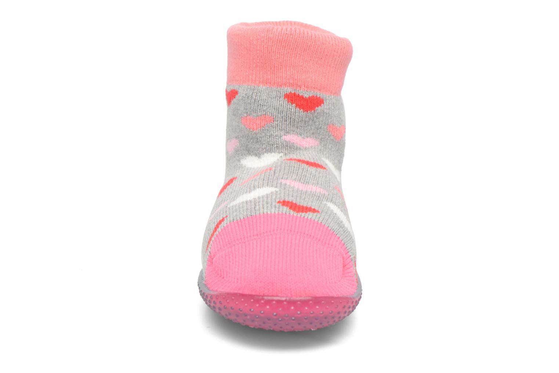 Chaussettes et collants SARENZA POP Chaussons Chaussettes POP  Slippers Rose vue portées chaussures