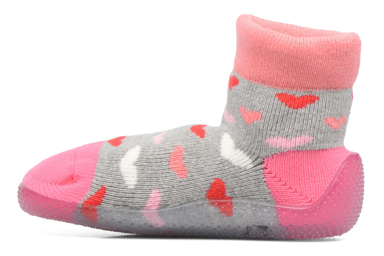 Chaussettes et collants SARENZA POP Chaussons Chaussettes POP  Slippers Rose vue face