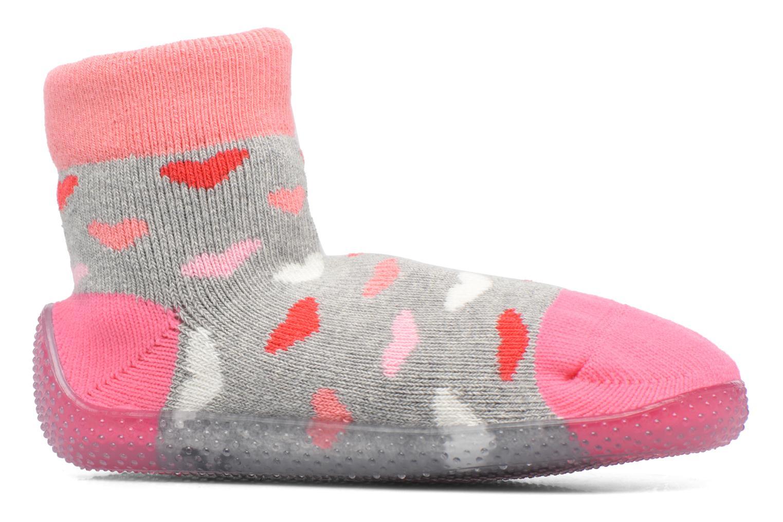 Chaussettes et collants SARENZA POP Chaussons Chaussettes POP  Slippers Rose vue derrière