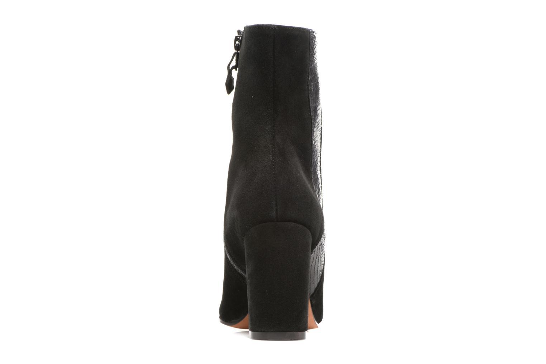 Bottines et boots Elizabeth Stuart Pista 593 Noir vue droite