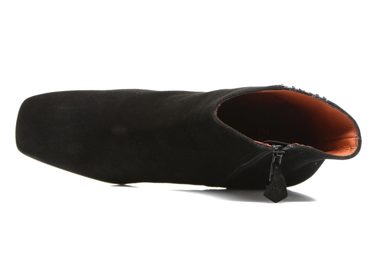 Bottines et boots Elizabeth Stuart Pista 593 Noir vue gauche