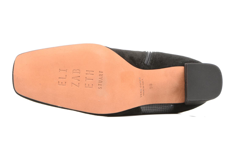 Bottines et boots Elizabeth Stuart Pista 593 Noir vue haut