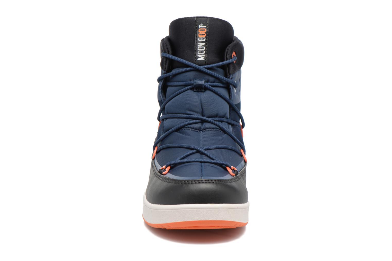 Chaussures de sport Moon Boot Neil W Noir vue portées chaussures
