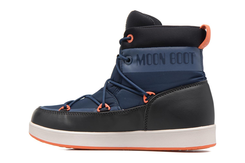 Chaussures de sport Moon Boot Neil W Noir vue face