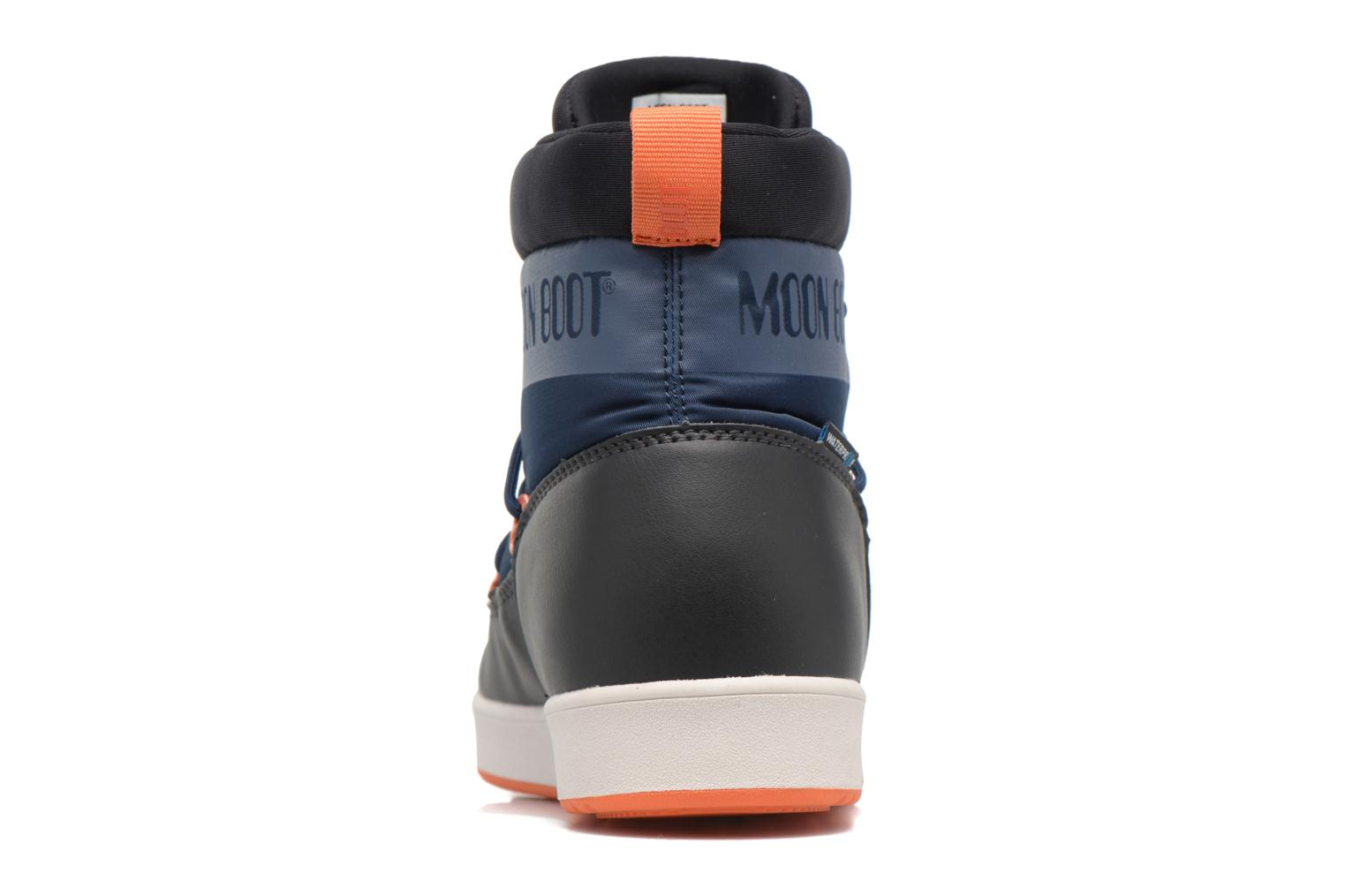 Neil W Dark Blue-Black-Orange