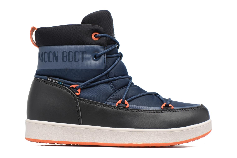 Chaussures de sport Moon Boot Neil W Noir vue derrière