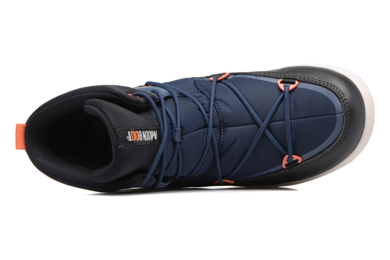 Chaussures de sport Moon Boot Neil W Noir vue gauche