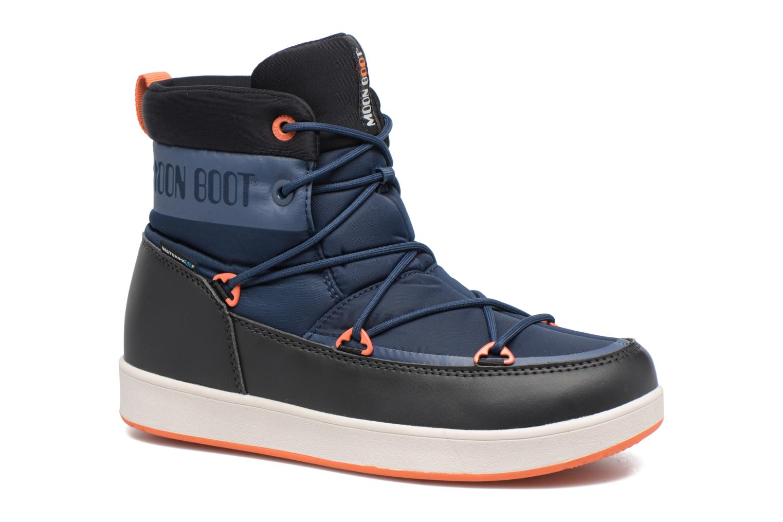 Neil W Dark Blue-Black-Orange