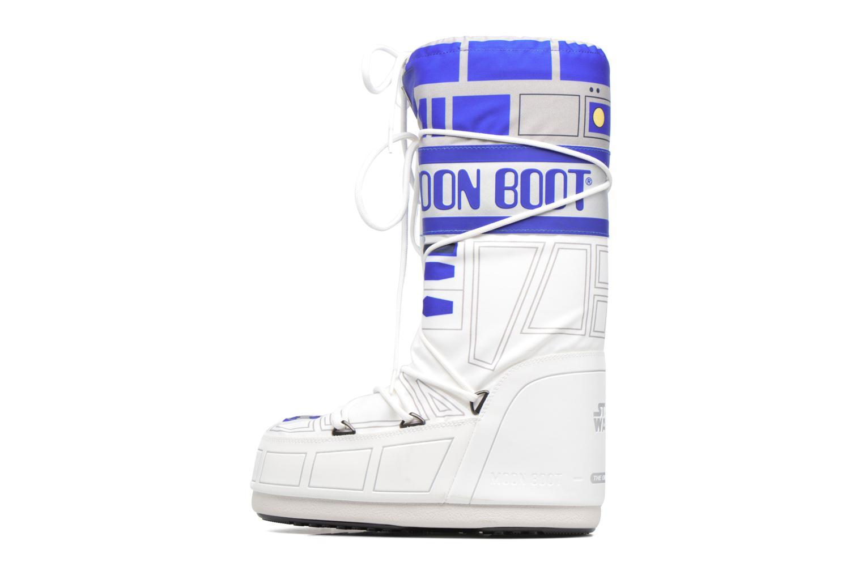 Moon Boot Sw R2-D2 K Bianco-Blu-Argento