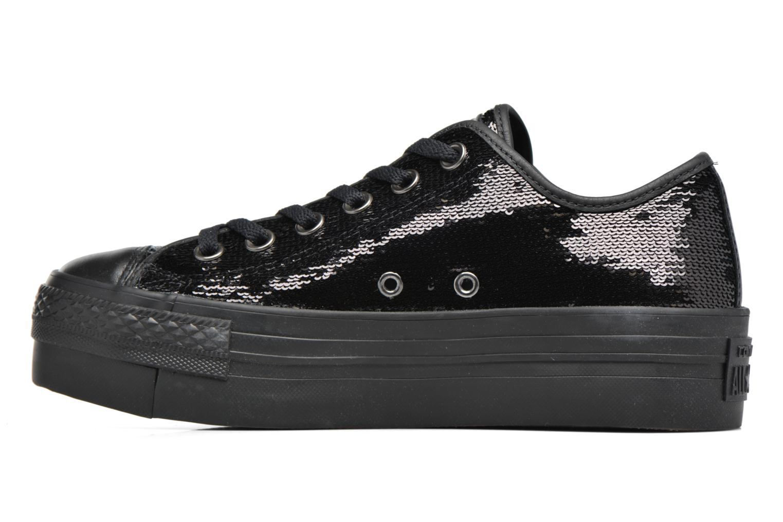 Black/black/black Converse Chuck Taylor All Star Platform Ox (Noir)