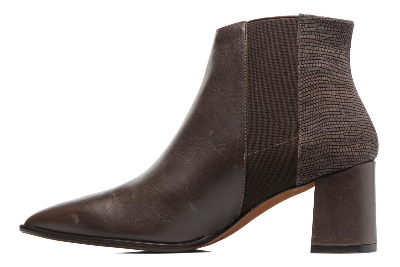 Bottines et boots Elizabeth Stuart Adam 183 Marron vue face