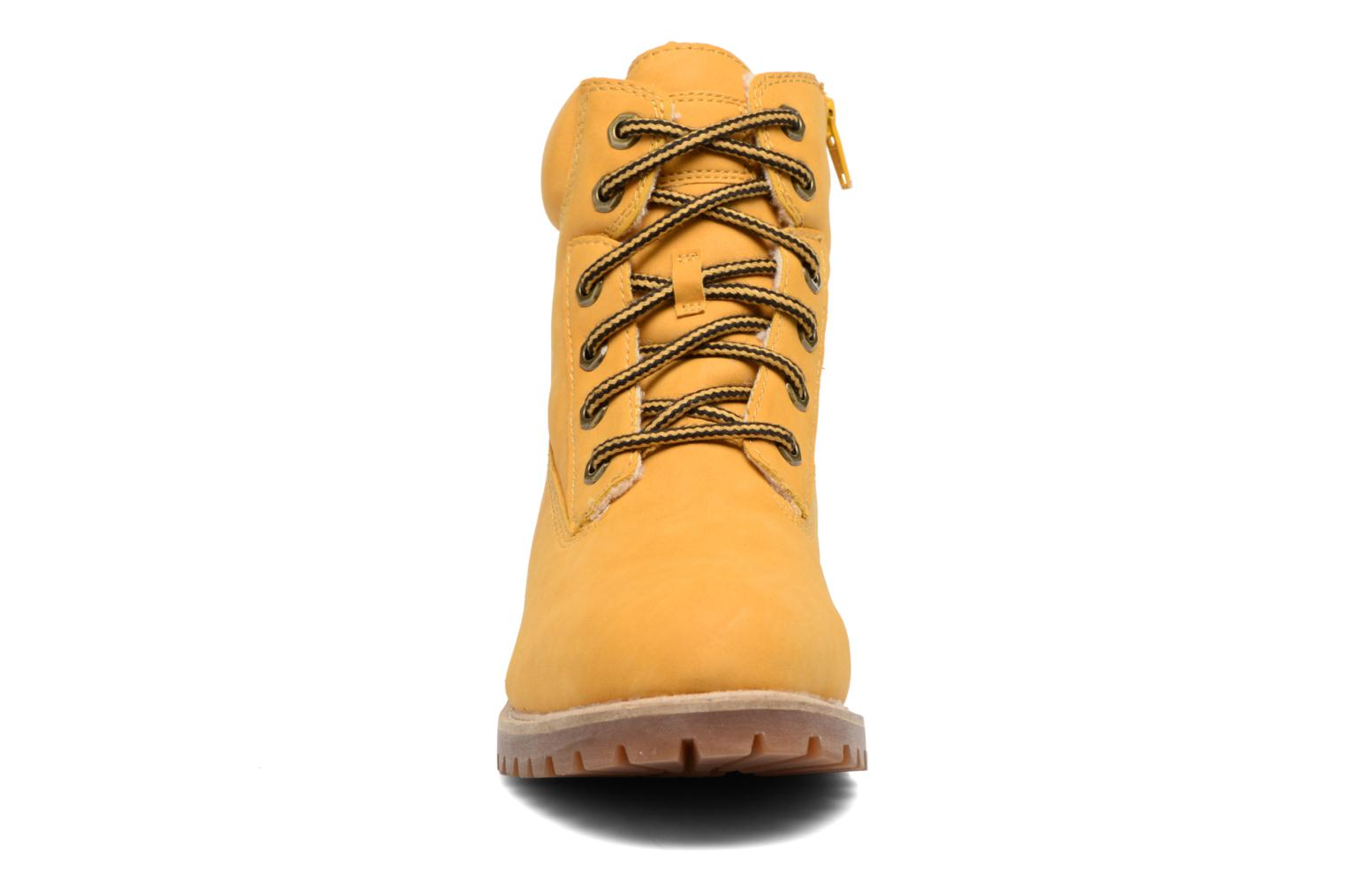 Ankle boots Esprit Landy LU Bootie Yellow model view
