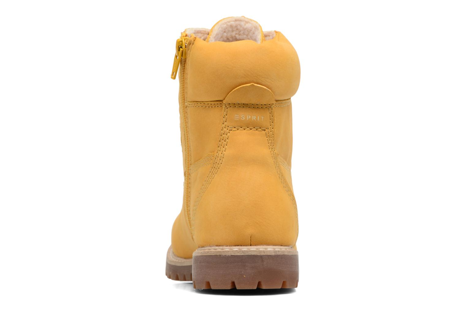 Ankle boots Esprit Landy LU Bootie Yellow view from the right