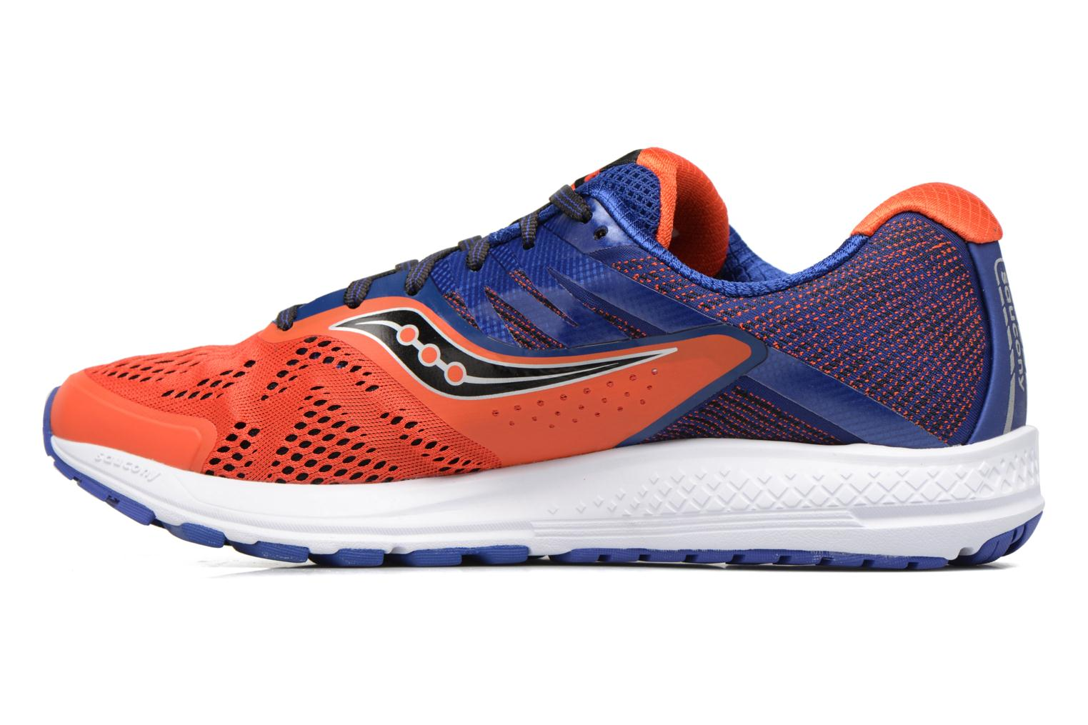 Chaussures de sport Saucony Ride 10 Orange vue face