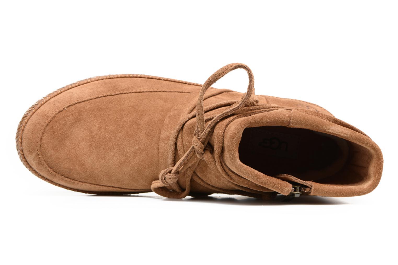 Bottines et boots UGG Reid Marron vue gauche