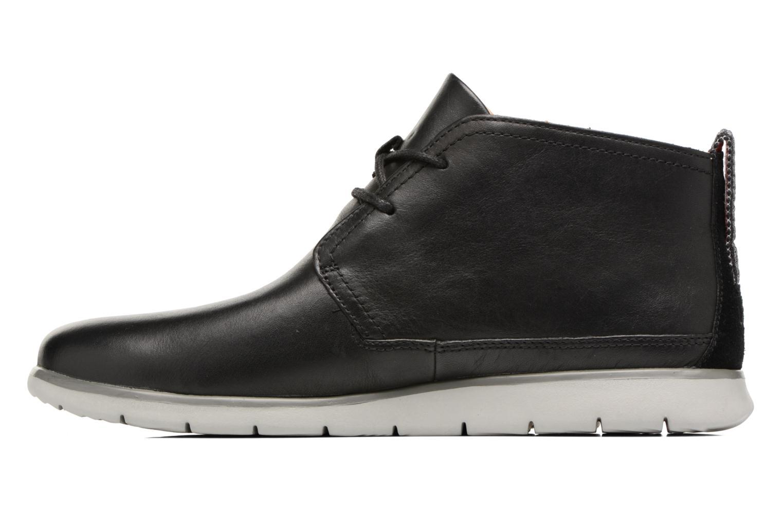 Chaussures à lacets UGG Freamon WP Noir vue face