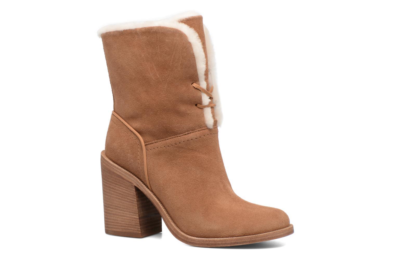 Bottines et boots UGG Jerene Marron vue détail/paire