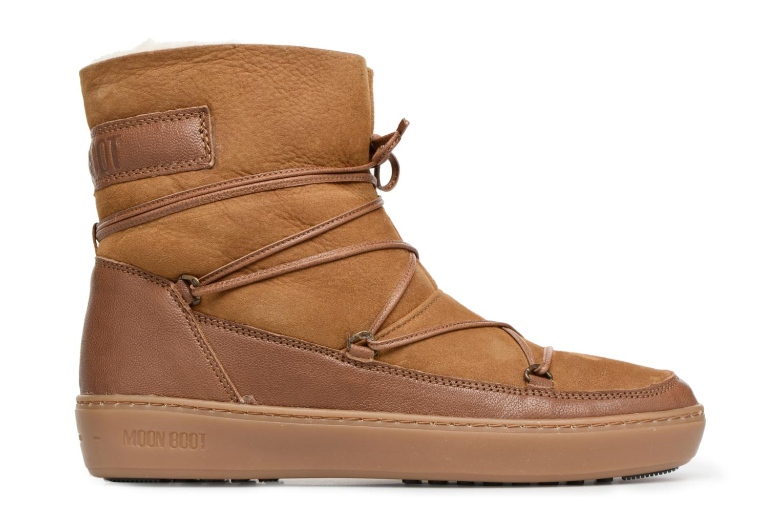 Sport shoes Moon Boot Pulse low shearling Brown back view