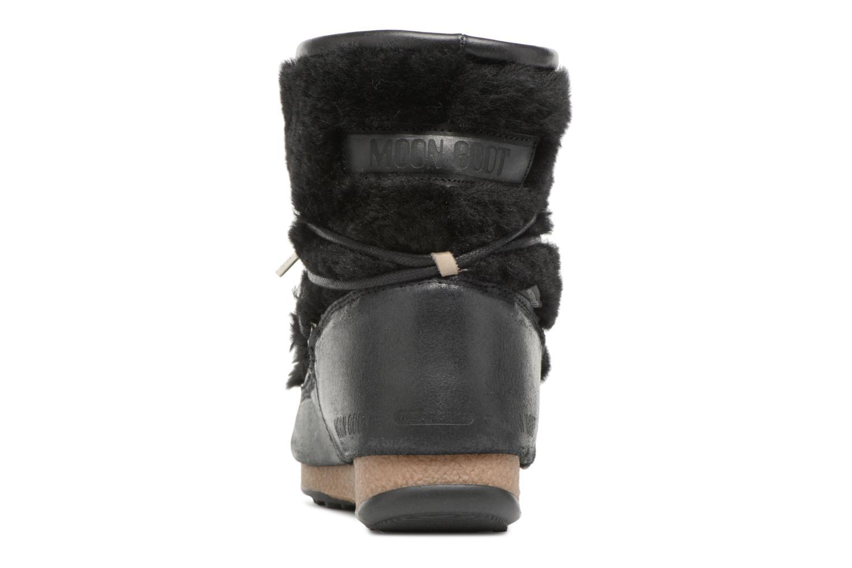 Chaussures de sport Moon Boot low SH Noir vue droite