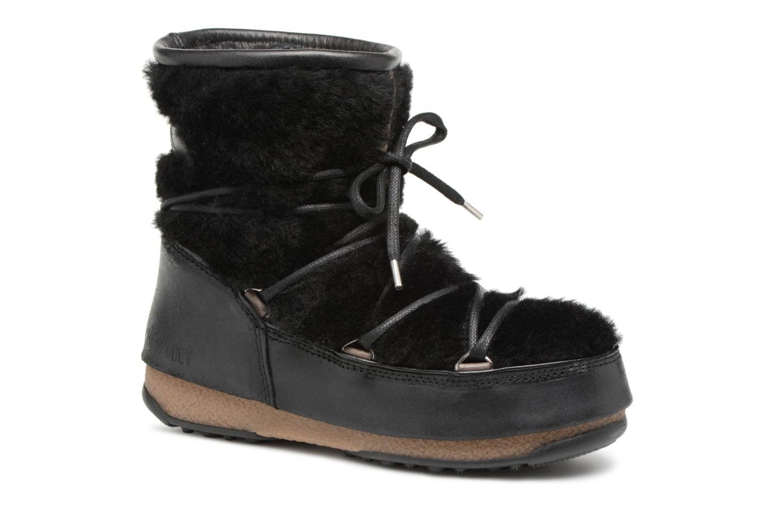 Sport shoes Moon Boot low SH Black detailed view/ Pair view