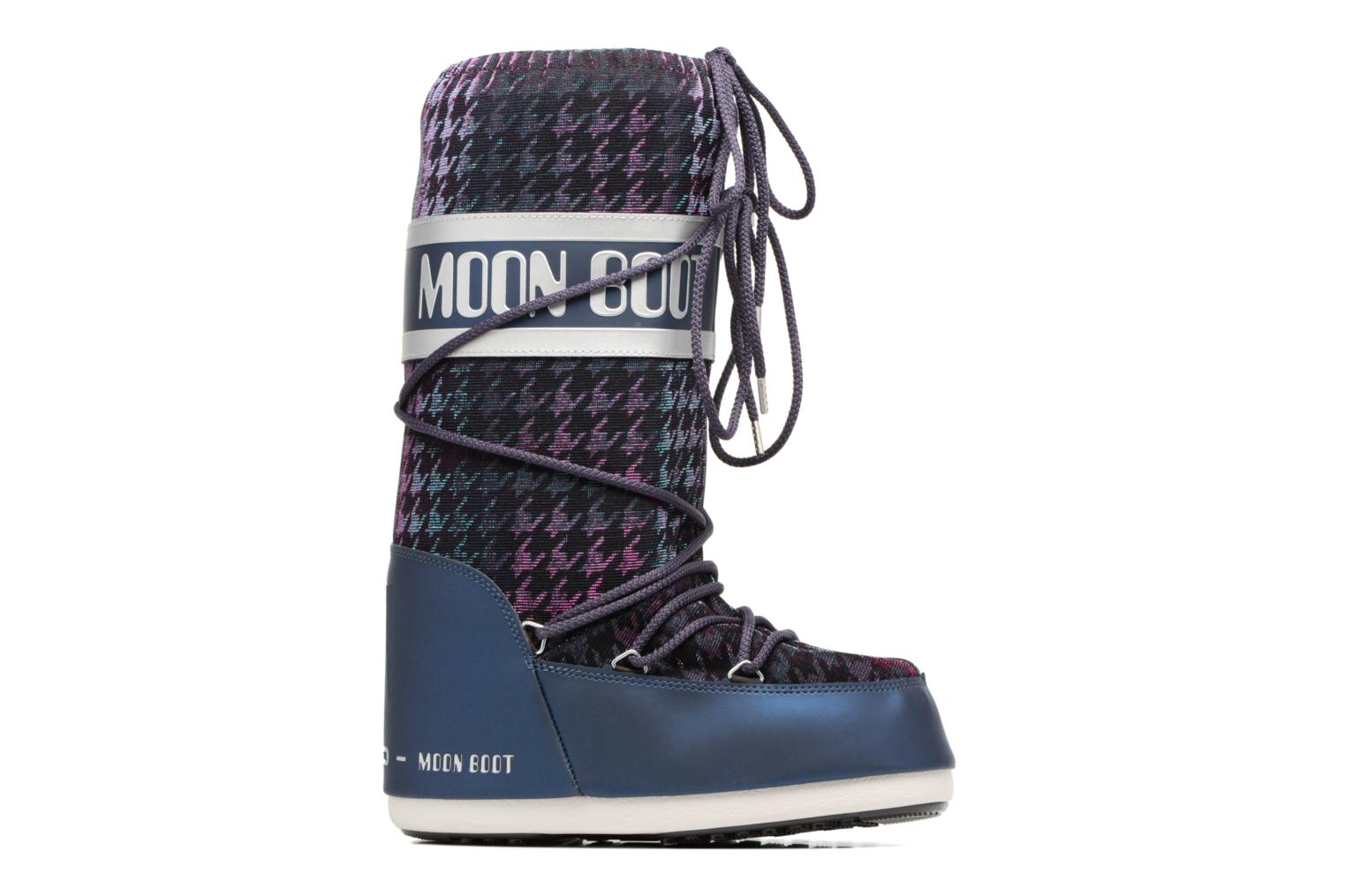 Sport shoes Moon Boot Glam Blue back view