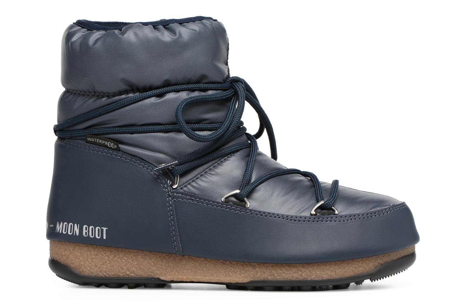 Sport shoes Moon Boot Low Nylon Blue back view