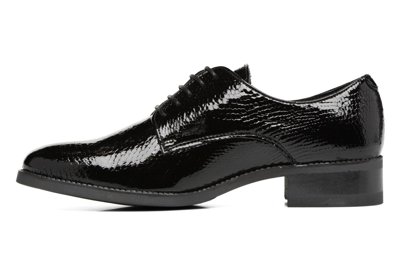 Chaussures à lacets Georgia Rose Galion Noir vue face
