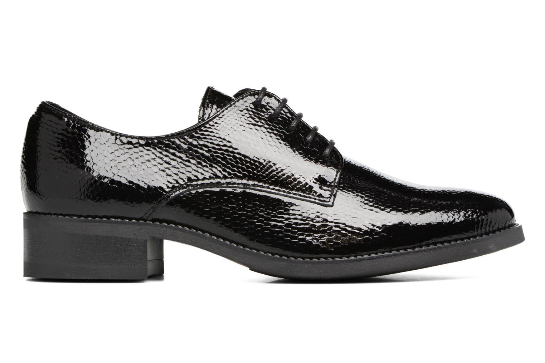 Chaussures à lacets Georgia Rose Galion Noir vue derrière