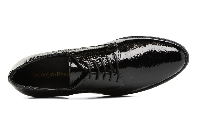 Chaussures à lacets Georgia Rose Galion Noir vue gauche