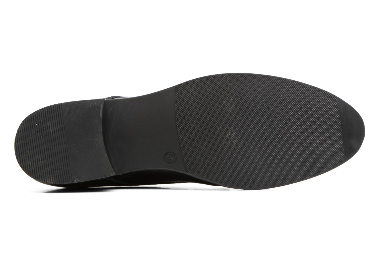 Chaussures à lacets Georgia Rose Galion Noir vue haut